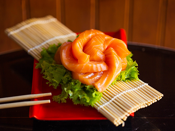 I 1 sashimi de salmón