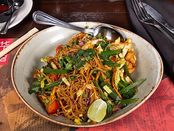 Singapore street noodles