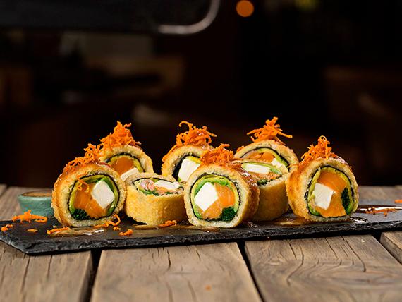 Oriental roll (sin arroz)