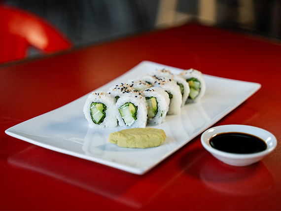 Veggie roll (10 piezas)