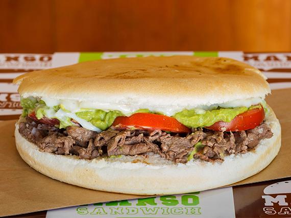 Manso sándwich italiano