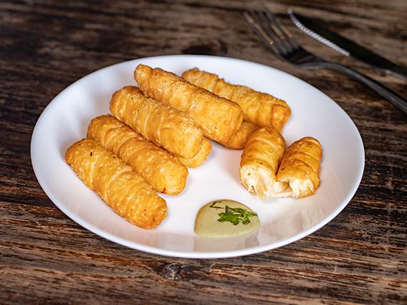 Tequeños de queso (8 unidades)