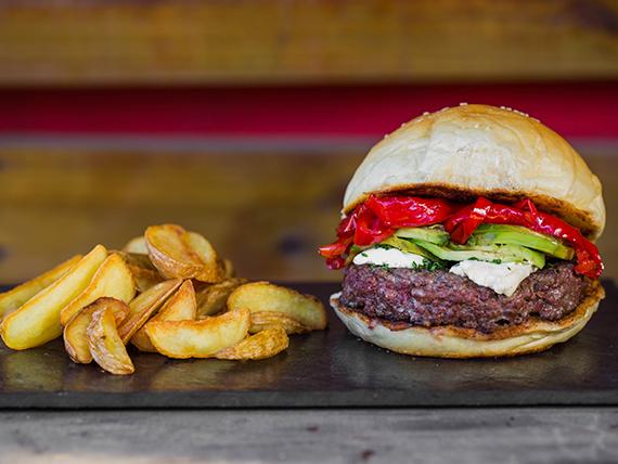 Some Devil burger