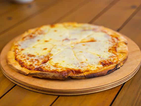 Pizza con muzzarella (28 cm de diametro)