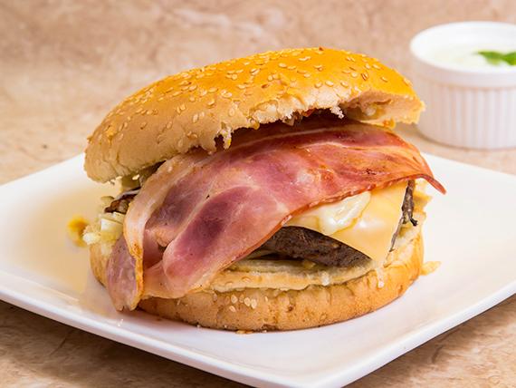 Hamburguesa whooper Nota de carne