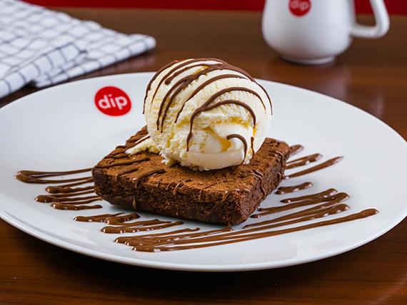 dipndip chocolate brownie