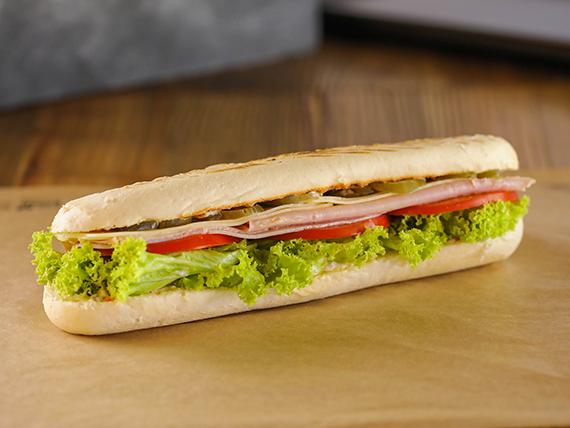 Sándwich de Jamón y mozzarella