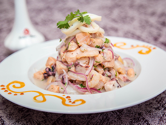 Ceviche delicia china