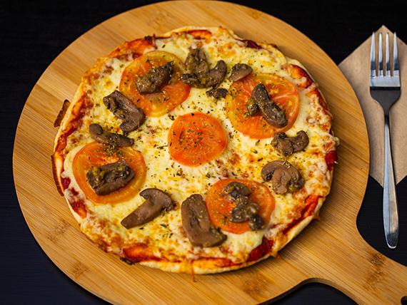 Pizza champimato (tamaño mediano