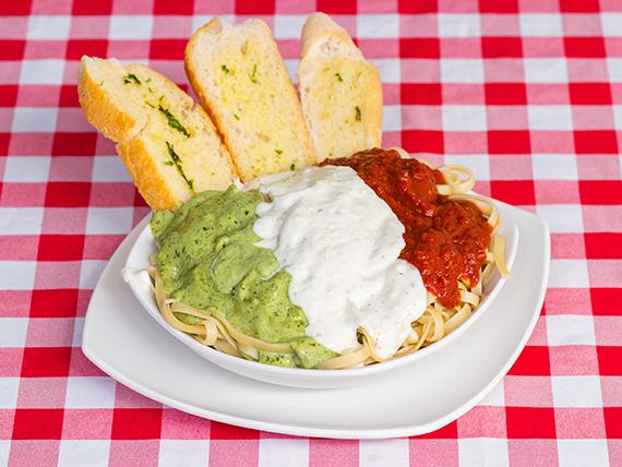 Pasta bandera italiana