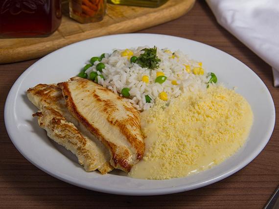 Menú 4 - Pollo a la plancha