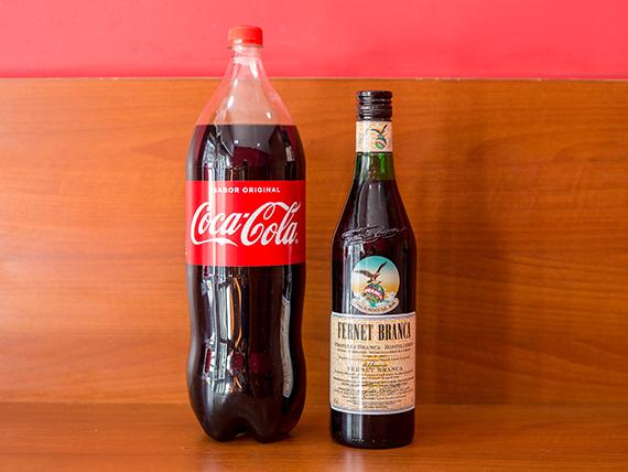 Combo - Fernet 750 ml + refrescos Coca Cola 2.25