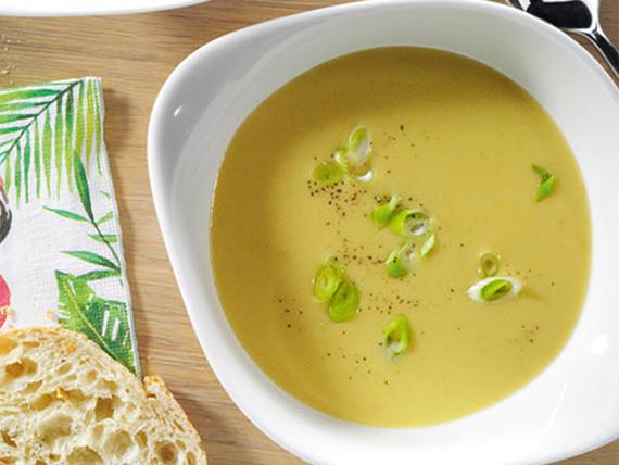Sopa coco curry