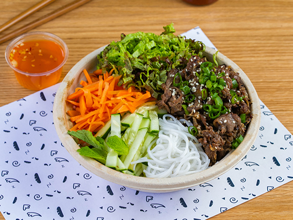 BBQ beef bowl