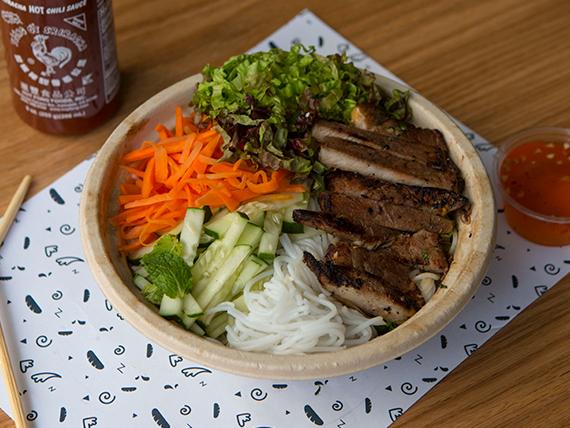 Grilled pork bowl