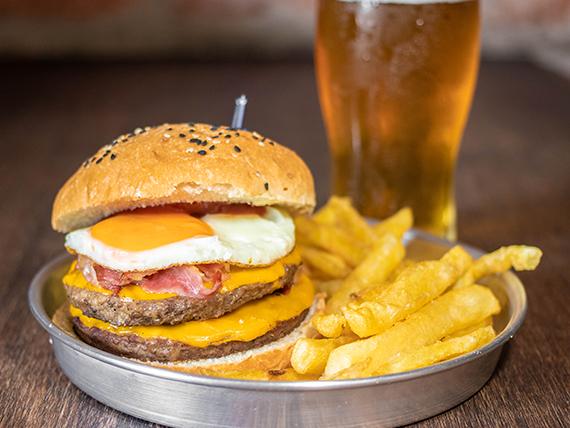 Dbox XL burger