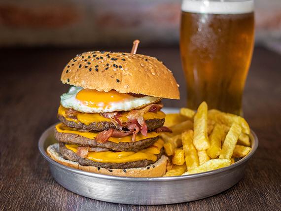 Dbox XXL burger