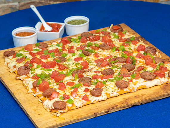 Pizza española (mediana)