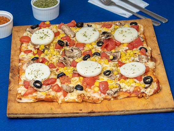 Pizza vegetariana especial (mediana)