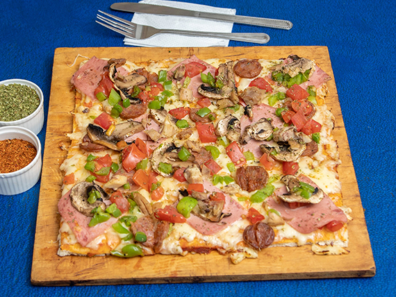Pizza la Cuadratta menjunge (mediana)