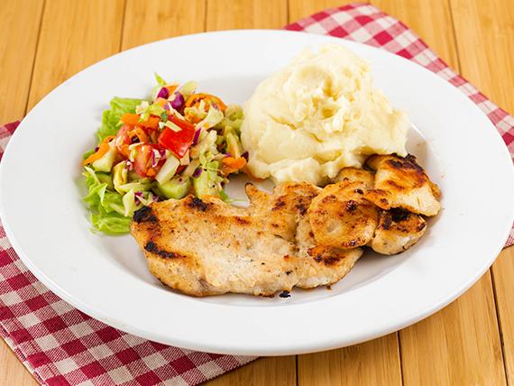Filete de pollo a la plancha