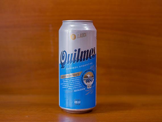 Cerveza Quilmes en lata