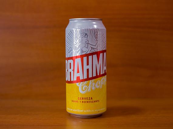 Cerveza Brahma en lata