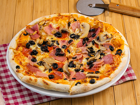 Pizza combinación regular