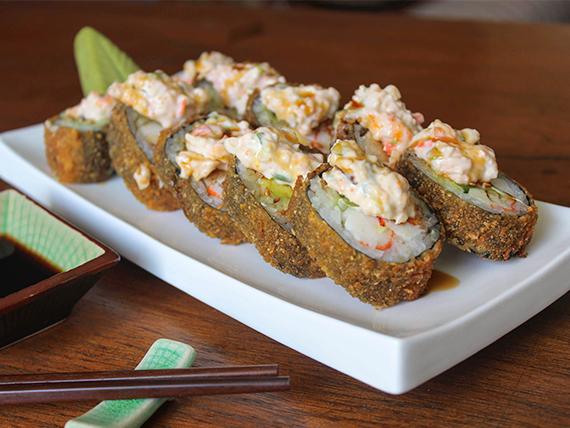 Shihan tempura roll (10 piezas)