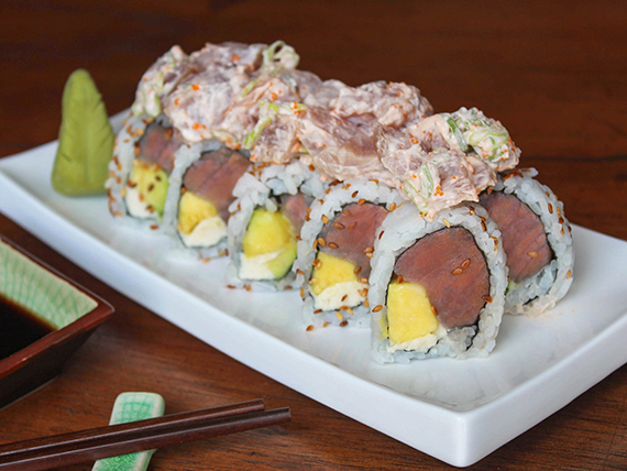Spicy tuna roll (10 piezas)