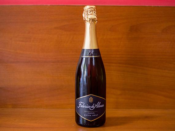 Champagne  Federico alvear extrabrut