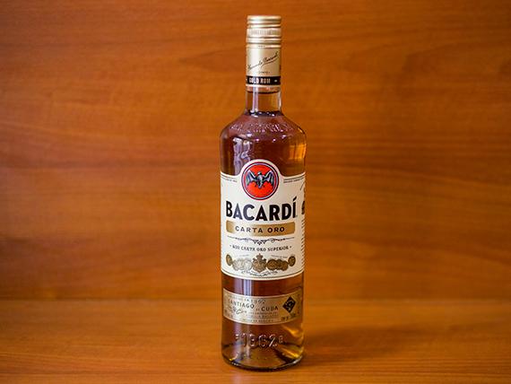Ron Bacardi oro 750 ml