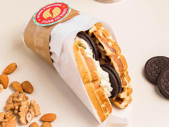 Waffle Cheesecake Oreo