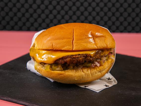 Beauty veggie burger