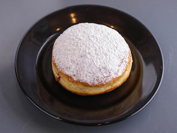 Donut de dulce de leche rellena