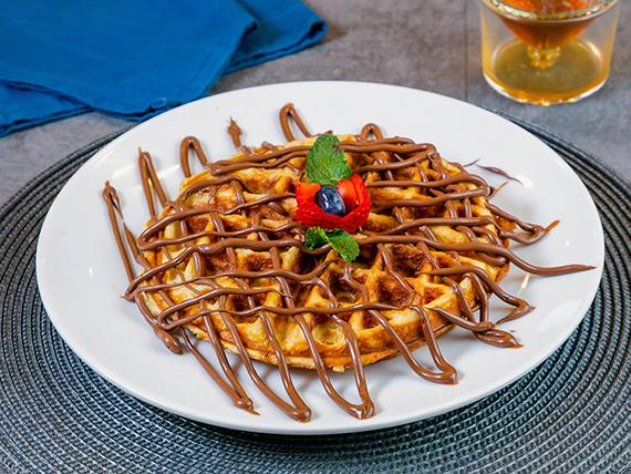 Waffle de Nutella