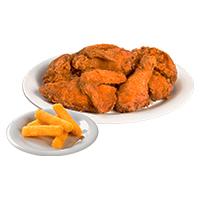 Pollo Apanado + 1 Porción de Yuca