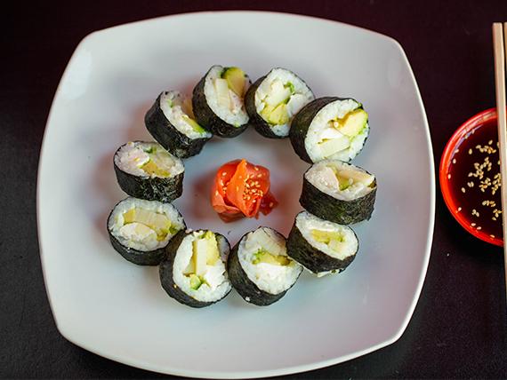 Futomaki vegetal roll (10 piezas)