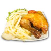 ¼ Pollo