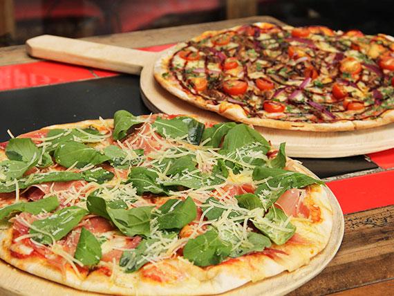 Promo 1 - 2 pizzas medianas
