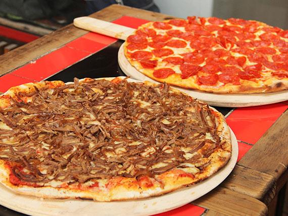 Promo 2 - 2 pizzas familiares