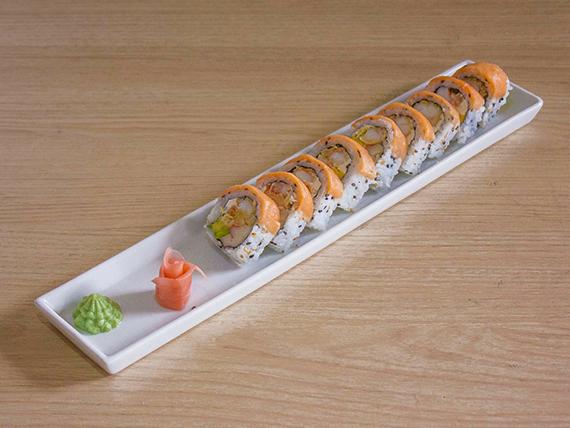 Salmon Ebi Roll