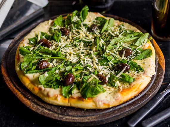 Pizza de rucula
