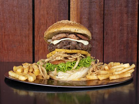 Hamburguesa Santander Rock Burger