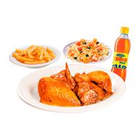 Combo 1/2 Pollo Asado + Papas y Gaseosa