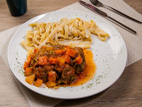 Osobuco tradicional Pastissima (horneado por 2 horas)