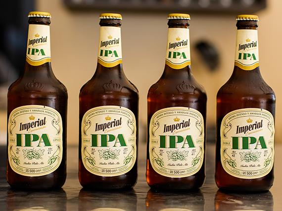 Cerveza Imperial 500 ml Doble Ipa lupulo (4 unidades)
