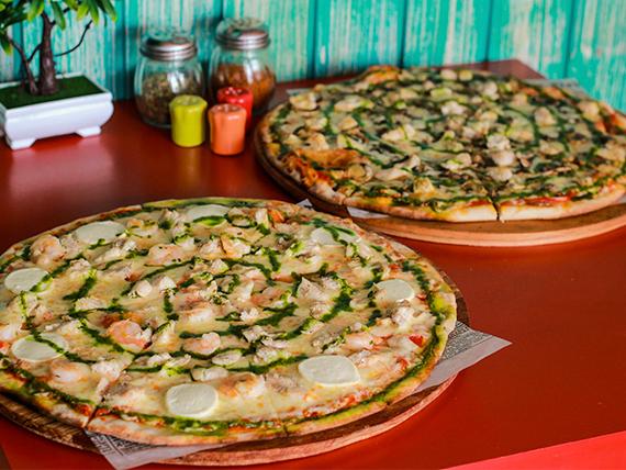 Sugerencia 2 - 2 Pizzas familiares + Bebida 3 L