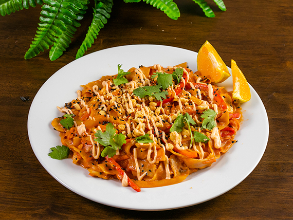 Asian pad thai