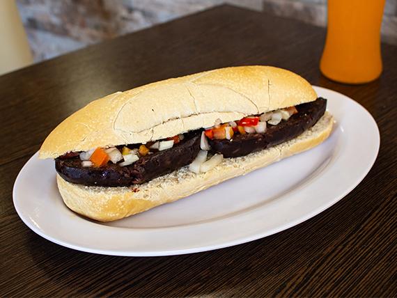 Combo morcipan - Sándwich de morcilla + bebida